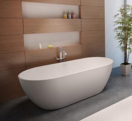 Ванна из литого мрамора RIHO Bilbao 150 x 75