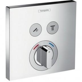 Термостат для душа, внешняя часть HANSGROHE ShowerSelect (15768000)