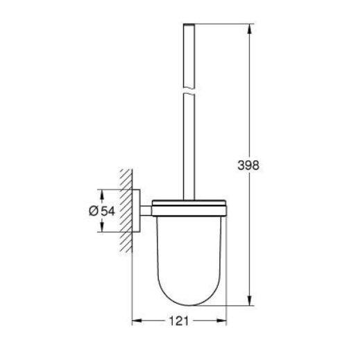 Туалетный ершик Grohe Essentials (40374001)