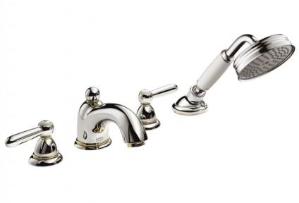 Смеситель для ванны, на 4 отверстия, двухвентильный HANSGROHE Axor Carlton (17455000)
