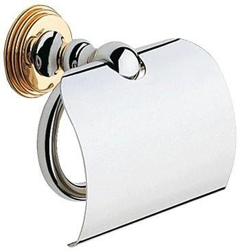 Держатель для туалетной бумаги Grohe Sinfonia (хром-золото)  (40053IG)