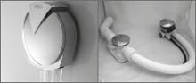 Слив-перелив для ванны RIHO с наполнением 70 см 560100360