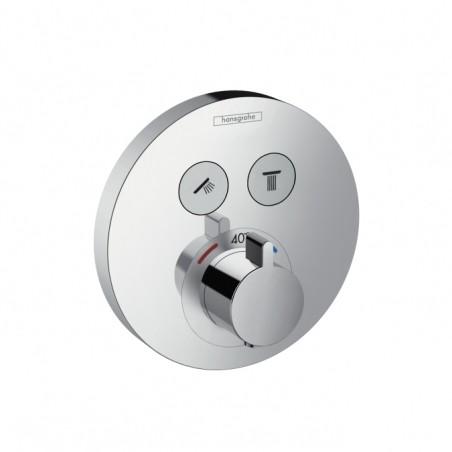 Термостат для душа (наружная часть) HANSGROHE Shower Select S (15743000)