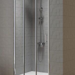 Душевая дверь New Trendy NEW VARIA тройные двери (100×190)