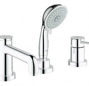 Смеситель для ванны на 3 отверстия Grohe BauClassic (25118000)