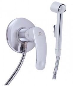 Смеситель настенный для биде с гигиеническим душем (лейка-пластик) Rav Slezak Mississippi MS047