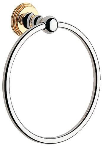 Кольцо для полотенца Grohe Sinfonia (хром-золото)  (40047IG)