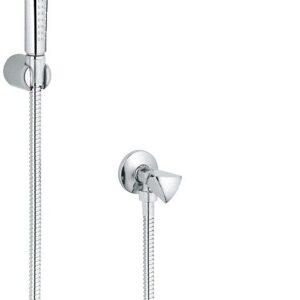 Гигиенический душ+шланг+держатель+угловой вентиль Grohe Relexa (27514000)