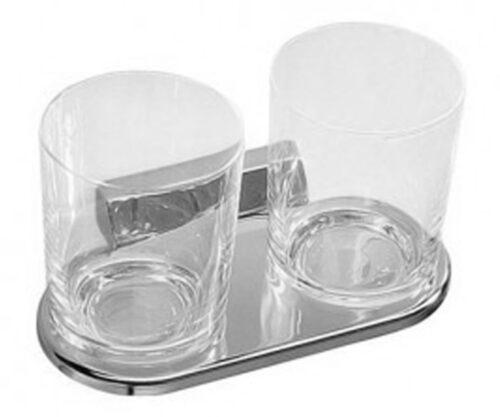 Двойной держатель для стаканов Jika (9724.2) (Снят с производства)