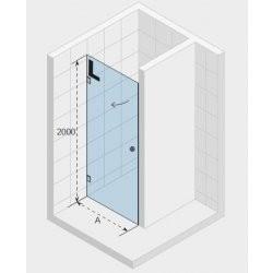 Душевая дверь ARTIC A101 70×200 L