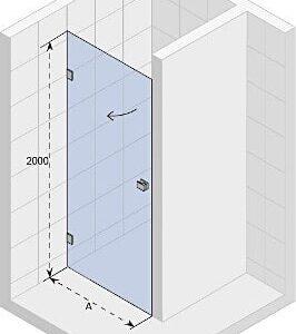 Душевая дверь SCANDIC MISTRAL M101-70
