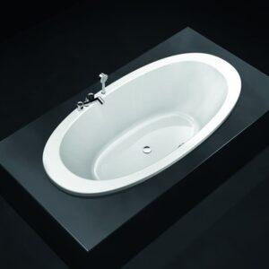 Ванна акриловая Laufen Il Bagno Alessi One 203х102 H2439700006751