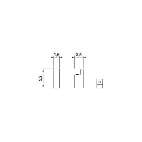 Крючок Cubito JIKA (H3813B30040001)