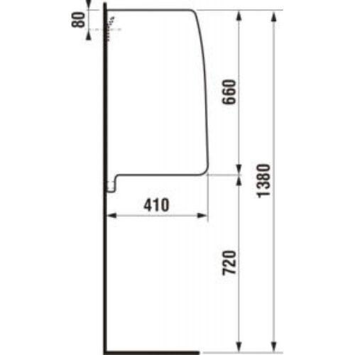 Перегородка для писсуара JIKA SPLIT (H8476010000001)