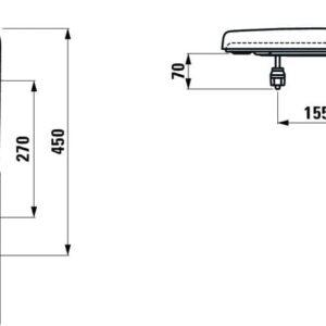 Сиденье для унитаза Laufen Pro H8939520370001