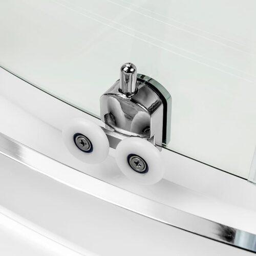 Душевая кабина New Trendy  Feria (90x90x185) квадратная в комплекте с поддоном