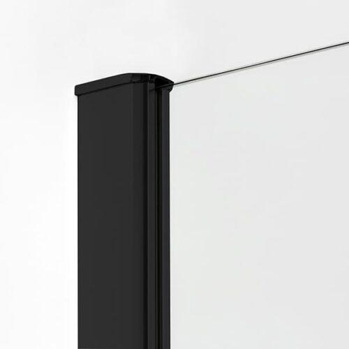 Душевая кабина New Trendy пятиугольная NEW KOMFORT BLACK (90x90x190)