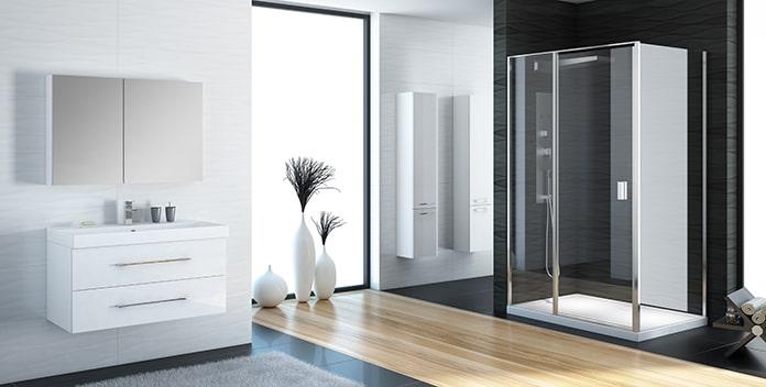 New Trendy - душевые кабины, перегородки, шторки на ванну, мебель