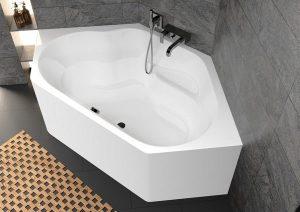 Ванны RIHO Plug & Play: акриловая ванна с монолитной панелью