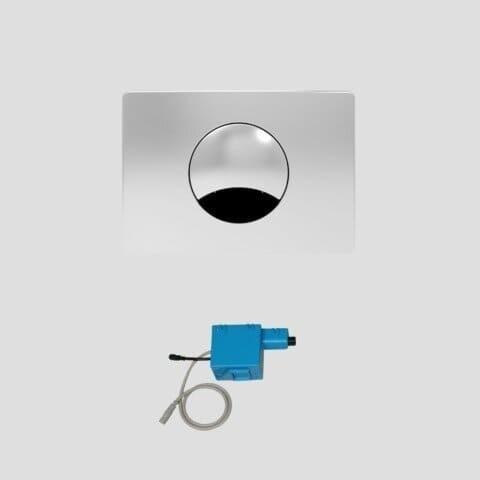 Смывная клавиша Sanit 16.741.81..0000 с ИК-датчиком для унитаза