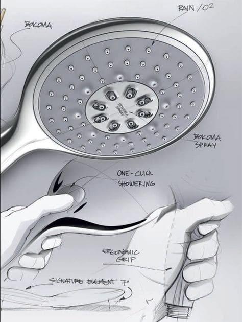 Ручной душ Grohe Power&Soul 4 режима (27675000)