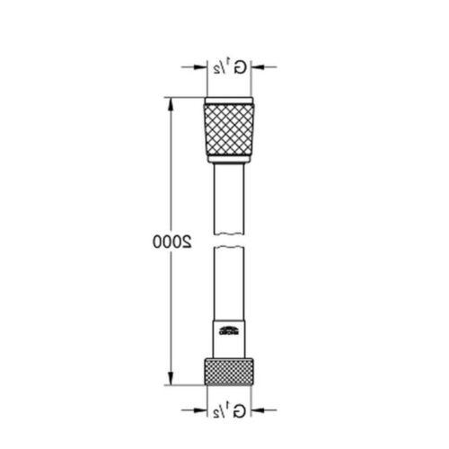 Душевой шланг Grohe Relexaflex (28155001)