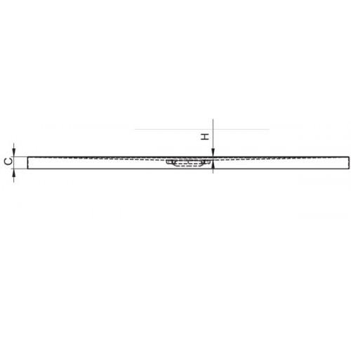 Душевой поддон черный матовый RIHO BASEL 418 140×90 DC28170