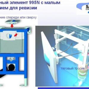 Инсталляция для унитаза низкая Sanit 82 см 90.737.00.T000
