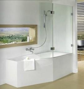 Ширма (шторка) для ванны SCANDIC S500-GETA160
