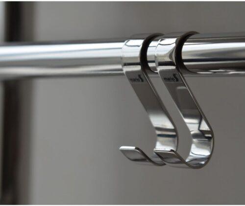 Крючок навесной 28x60 мм