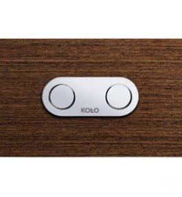 KOLO CAMELEON спускная кнопка с пневматическим устройством для стеллажа KOLO TECHNIC GT дерево: венге