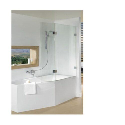 Ширма (шторка) для ванны SCANDIC S500-DELTA 150/160
