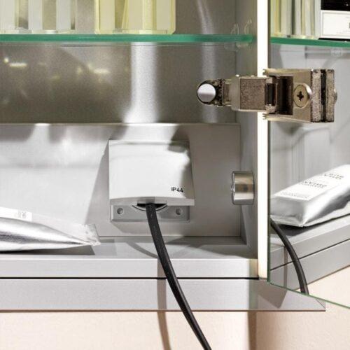 Шкафчик подвесной зеркальный Laufen Frame 25 Белый H4083529001451
