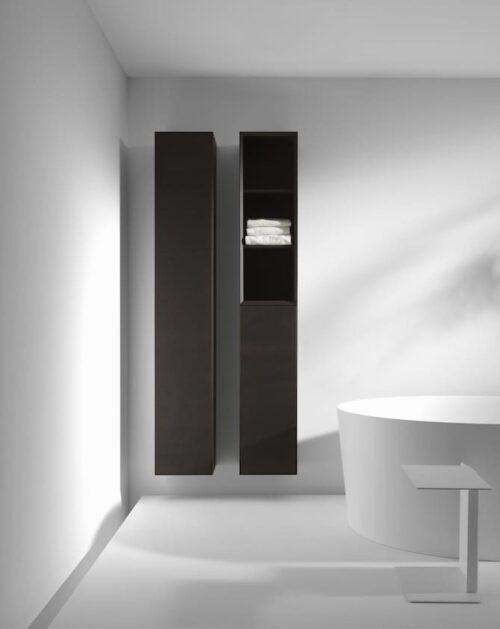 Шкафчик подвесной средний Laufen Boutique Темный дуб H4091511502511