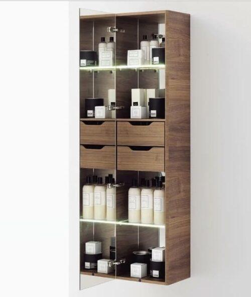 Шкаф высокий зеркальный Laufen Alessi One H4580320976301