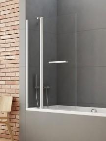 Ширма (шторка) для ванны NEW SOLEO (120×140)