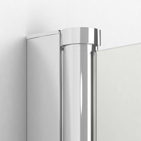 Ширма (шторка) для ванны NEW SOLEO (100x140) P-0028