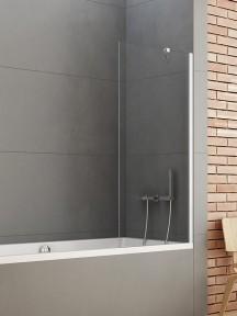 Ширма (шторка) для ванны NEW SOLEO (90×140) P-0032