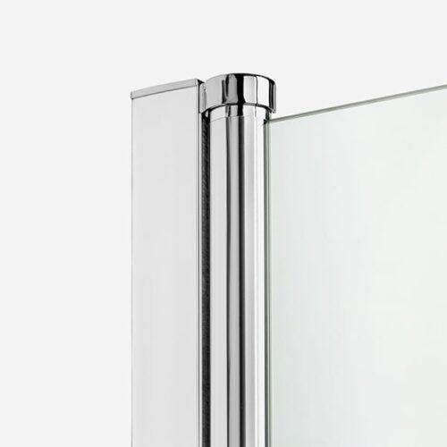Ширма (шторка) для ванны NEW SOLEO (90x140) P-0032