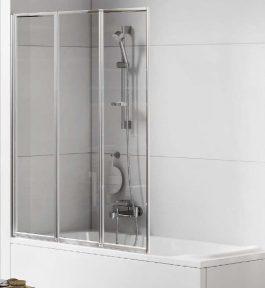 Шторка для ванни Trex 100 New Trendy P-0153