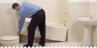 Реставрация акриловой ванны в домашних условиях