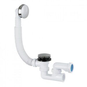 Сифон для ванна Clic-Clak, хром S-490 (15877)