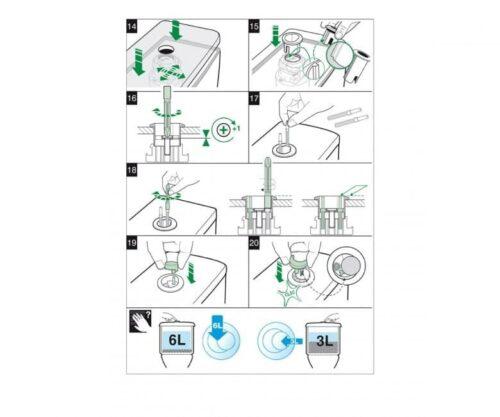 Сливной механизм JIKA LYRA H8913620000001